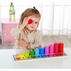 Sorter kolorów+nauka liczenia