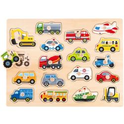 Pojazdy -duża układanka...