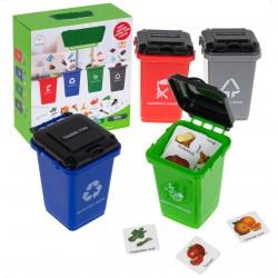 Sortowanie śmieci-nauka...