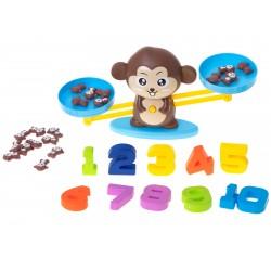 Waga małpka - nauka liczenia
