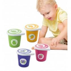Drewniane jogurty z...