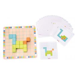 Układanka przestrzenna tetris