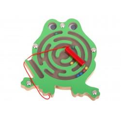 Żabka-labirynt magentyczny