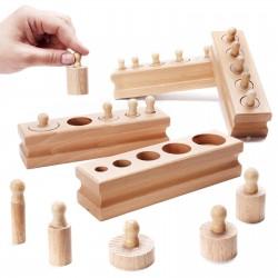 Cylindry drewniane