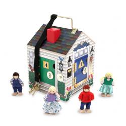 Drewniany domek z...