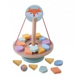 Balansująca gra z liskiem